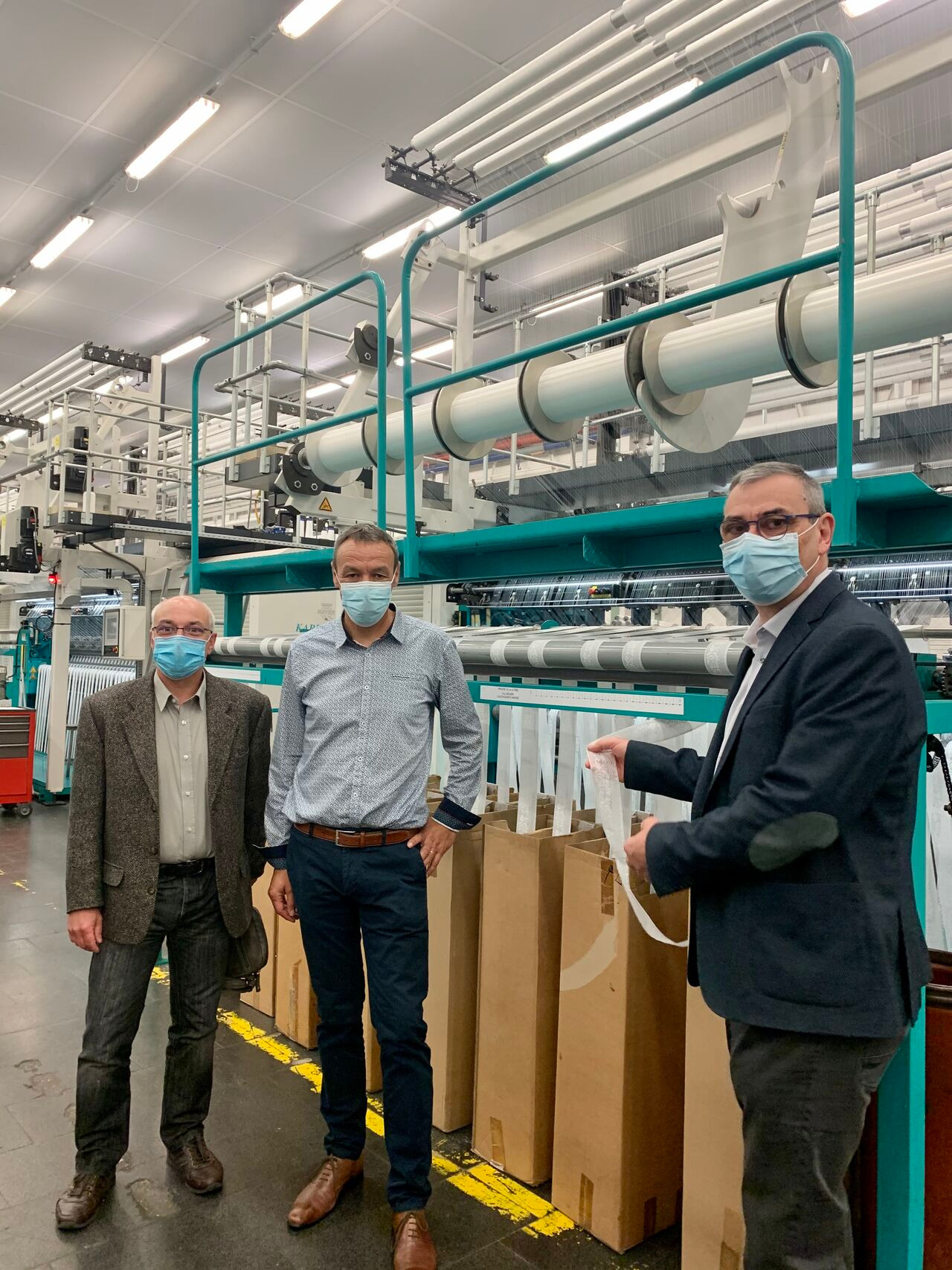The Chamber of Commerce and Industry visiting Fontanille Scop
